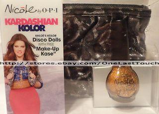KHLOE KARDASHIAN Color OPI Nicole DISCO DOLLS Nail Polish Gift Set