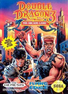 Double Dragon 3 The Arcade Game Sega Genesis Great Condition Fast