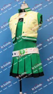 Powerpuff Girl Z Buttercup Cosplay Costume Custom Made