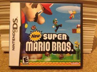 New Super Mario Bros. Brothers Nintendo DS Lite Dsi xl 3ds