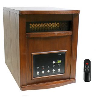 LifeSmart LS PP1800 6WCH 1500W Plus Infrared Quartz Heater Electric