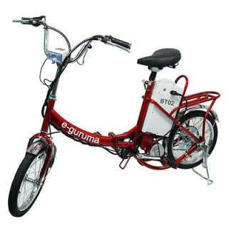 guruma Motor Bikes Electric Bicycle Motorized Folding E Bike Motor