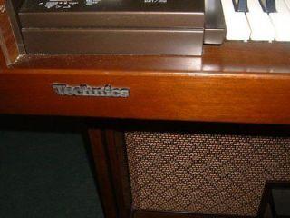 Technics Organ Model SX F3 with bench