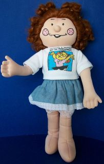 EFFANBEE Dennis the Menace friend MARGARET large soft plush DOLL