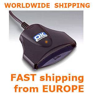 eID Smart Card Reader National HID OMNIKEY 1021 USB Writer Bank Tacho