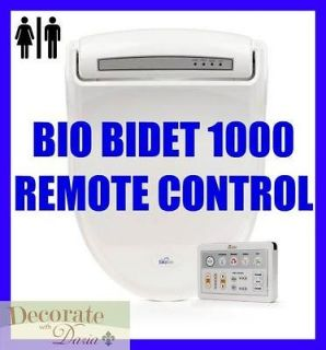 BB 1000 ELONGATED Electronic Toilet Seat Jet Wash Remote Control New