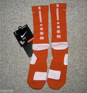 orange nike elite socks in Clothing,