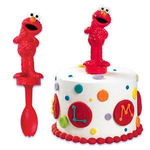 Elmo Spoon Cake Topper Decoration Sesame Street