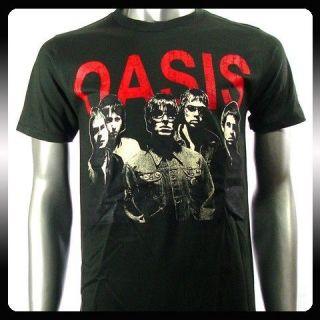 Oasis Alternative Rock Band Music Punk T shirt Sz XL