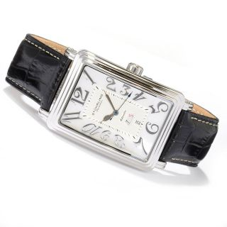 Original Uptown Esquire Mother of Pearl Dial Automatic Watch (WHITE