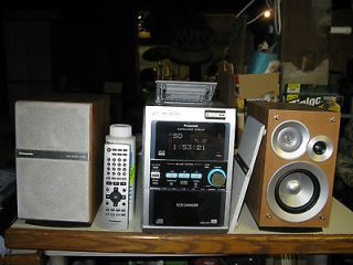 panasonic stereo system in Home Audio Stereos, Components