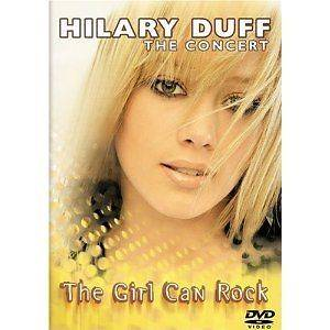 HILARY DUFF DVD   The Concert   The Girl Can Rock DVD Music