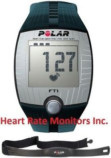 FT1 BLUE Heart Rate Monitor Watch Fitness Reviews Exercise Wrist HRM