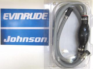 NEW FUEL LINE GAS HOSE ASSEMBLY FOR JOHNSON EVINRUDE 2 YR WARRANTY