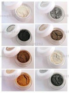Smoking color powder mineral pigment eye shadow makeup set M142