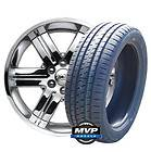 FACTORY CHROME 22 GMC CHEVROLET CADILLAC WHEELS CK919 TIRES 285 45 22