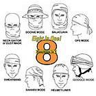 Ops Recon Wrap Multi Use Tactical goggle Headgear Balaclava Face Mask
