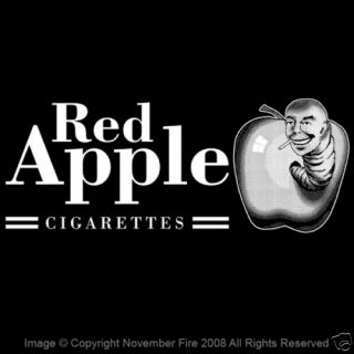 Red Apple Cigarettes Shirt Pulp Fiction Kill Bill Smoke