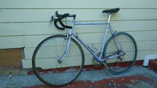 Vintage Road Race Bike Bicycle Italy Columbus tubing 58cm