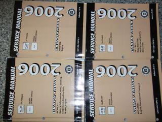 Chevy Silverado Sierra Denali Service Shop Repair Manual Set FACTORY