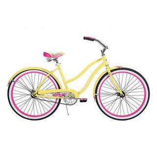 Cranbrook Womens 26 Cruiser Bicycle Bike Steel Frame Comfort Girls