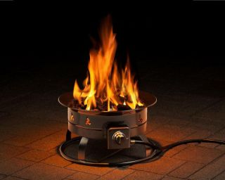 Fire Bowl 58,000 BTU portable propane outdoor fire pit camping RV