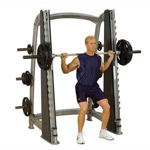 smith machine in Exercise & Fitness