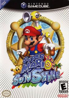 Mario Sunshine (Nintendo GameCube & Wii) Explore huge 3D environments