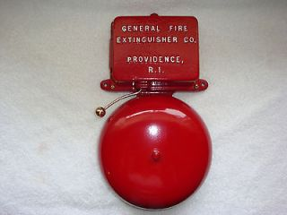 Fire Alarm BELL Call Box Old Antique Gamewell Police Telephone Phone