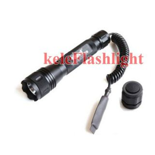 Tactical Police Xenon 12V Flashlight S3 Pressure Switch