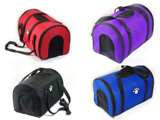 New  Pet Travel Carrier Dog Cat handbag Tote Airline Approved