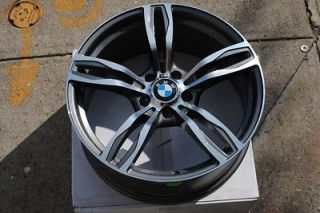 19 BMW M5 Style Wheels Rims Gunmetal Machine Finish 323i 325i 328i