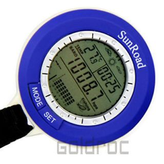 New Mini Fishing Barometer Pocket LED Digital Waterproof Altimeter