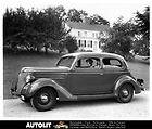 Ford 1936 V 6 Tudor Sedan Dealers Advertising card