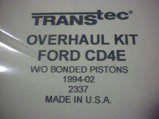 ford transmissions cd4e
