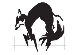 Fox Hound DieCut Decal Sticker Metal Gear Solid 4 Snake