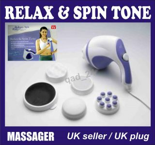 SPIN TONE FULL BODY BACK FOOT MASSAGER FOR SLIMMING AND RELAXING RELEX