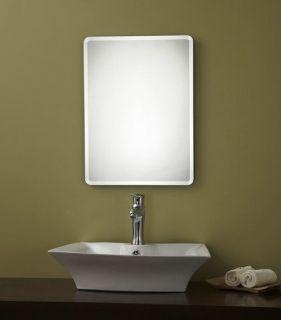 27 Rectangular Silver Wall Decorative Mirror for Bed/Bathroom