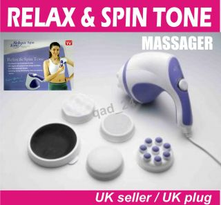 TONE FULL BODY BACK FOOT NECK SHOULDER MASSAGER AND RELAXING RELEX