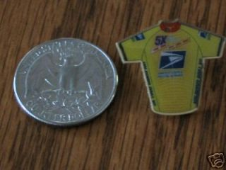 Five Time) LANCE ARMSTRONG Trek Bicycle USPS TOUR DE FRANCE BIKE PIN