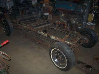 1930   1931 Ford Model A Coupe Frame Vintage Restoration