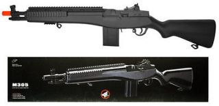 Double Eagle M305 M14 Spring Powered Airsoft Rifle 300 FPS