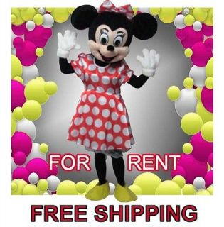 Friends of Mickey Mouse or Minnie Mouse Mascot Costume Adult Size for