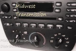 2001 2003 Ford Taurus/Mercury Sable CD Player Radio OEM♦MWD