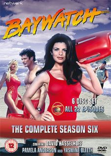 BAYWATCH the complete season series 6 six. 6 discs. Brand new DVD.