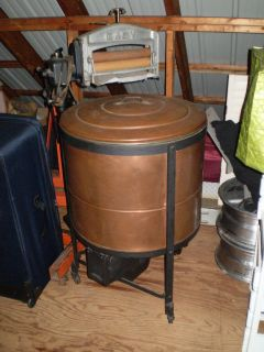 antique ideal copper tub 1900s washing machine works