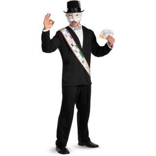 Adult XL Board Game Hasbro Monopoly Man Deluxe Costume