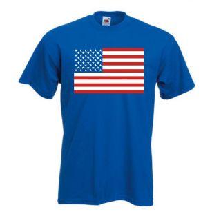 America International T Shirt   USA United States T Shirt Flag