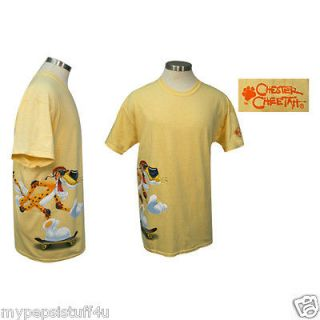 Chester Cheetah T Shirt Size LG Cheeto NEW SIDE LOGO SKATEBOARD LARGE