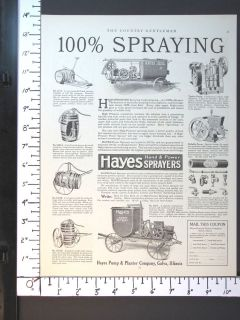 PUMP & PLANTER Hand & Power Agriculture Sprayers magazine Ad w4271